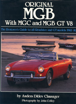 Original MGB with MGC and MGB GT V8